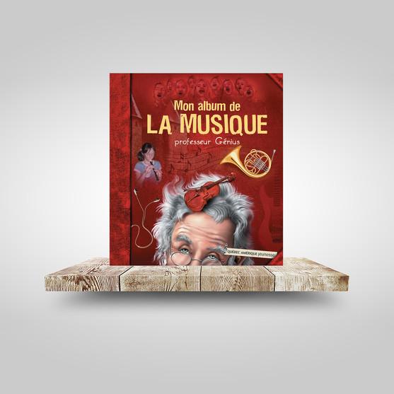 Mon album de la musique - Professeur Génius