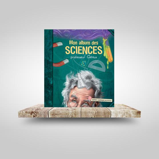 Mon album des sciences - Professeur Génius