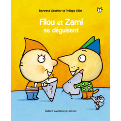 Filou et Zami se déguisent