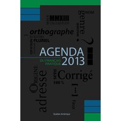 L'Agenda du français pratique 2013