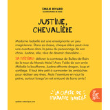 La classe de Madame Isabelle - Justine, chevalière