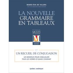 La Nouvelle Grammaire en tableaux - 4e éd.