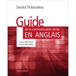 Le Guide de la communication écrite en anglais