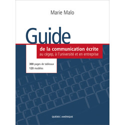 Le Guide de la communication écrite