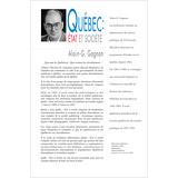 Québec : état et société