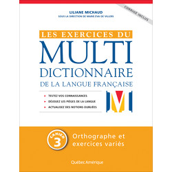 Les Exercices du Multidictionnaire de la langue française