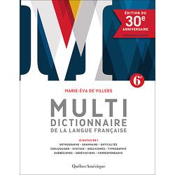 Multidictionnaire de la langue française – édition du 30e anniversaire