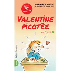 Valentine picotée