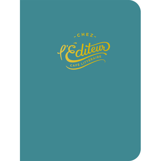Cahier de notes Chez l'Éditeur (turquoise)