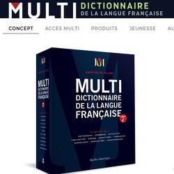 Multidictionnaire de la langue française - Abonnement à l\'accès Multi